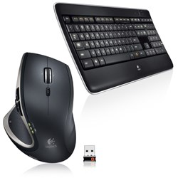 Picture of Logitech Wireless Performance Combo MX800 Illuminated Wireless Keyboard and Mouse