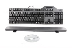 Picture of Dell KB813 Black USB English Keyboard with Smart Card Reader - R4F7T