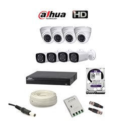 Picture of Dahua 8 HD CCTV Combo Pack
