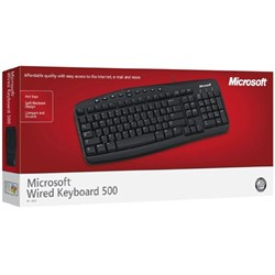 Picture of Microsoft Wired Keyboard 500