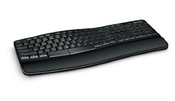 Picture of Microsoft Sculpt Comfort V4S-00001 Wireless Keyboard