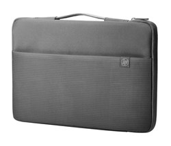 Picture of HP 15 Crosshatch Carry Sleeve for 15.6-inch Laptops (Grey)