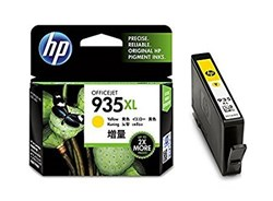 Picture of HP 935XL High Yield Yellow Original Ink Cartridge