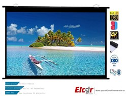 Picture of Elcor Map Type Projector Screens 4ft.x6ft.-84""