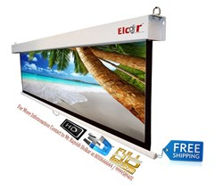Picture of ELCOR Manual Pull Down Projector Screens