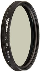 Picture of AmazonBasics Circular Polarizer Lens - 58 mm