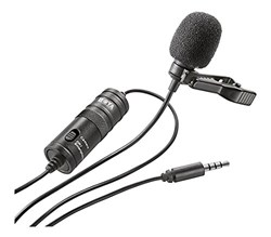Picture of Boya Lavalier Lapel Clip-on Omnidirectional Condenser Microphone