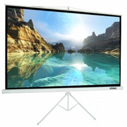 Picture of LOGIC 100 inch MW (7×5) screen with Tripod Stand LGP-100T