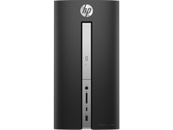 Picture of HP Pavilion 570-p054in Tower Desktop ( 7th Gen Intel Core i3-7100-4GB-1TB-Win10-Intel HD Gfx - Without Monitor)