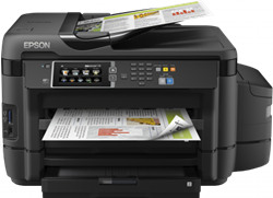 Picture of Epson L1455 A3 All-In-One Color Inkjet Printer with Ink Tank (Black)