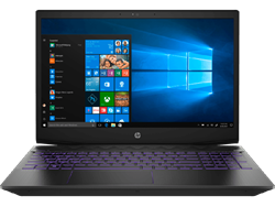 Picture of HP Pavilion Gaming 15-CX0144TX FHD Laptop (8th Gen i7-8750H-8GB DDR4-1TB HDD+128GB SSD -NVIDIA GTX 1050Ti 4GB Graphics-Win 10) Shadow Black