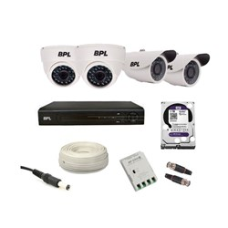 Picture of BPL 4 HD CCTV Combo Pack