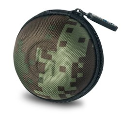 Picture of Orb Earphone Case Camouflage Green