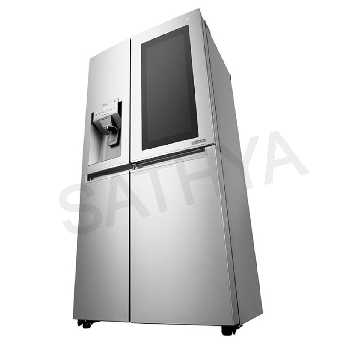 Lg Side By Side Door Refrigerator Gcx247csav Online Sathya
