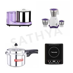 Picture of Preethi Grinder Lavender  (WG 905)+Mixie+Cooker+Indcook