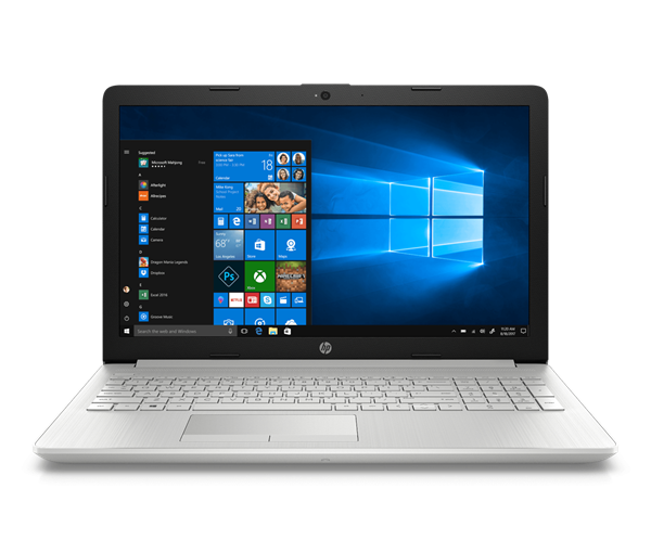 "Picture of HP Laptop 15-DA1041TU (Ci5-8265U-8GB DDR4-1TB-Win 10-UHD Graphics 620-FHD-15.6"")"