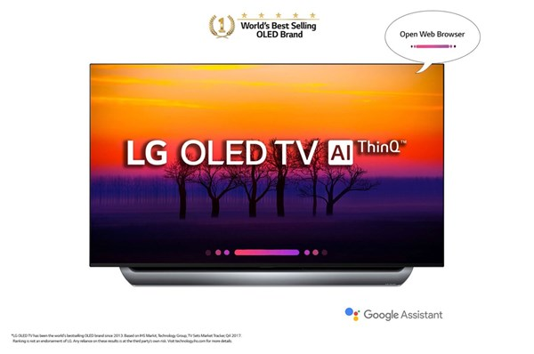 "Picture of LG 55"" OLED55C8"