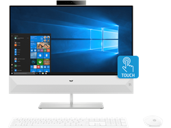 "Picture of HP Pavilion All-in-One - 24-QB0052in (Ci5-8400T-8GB-1TB-Win10-MX130 4GB GFX-24""FHD-Touch)"