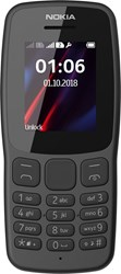 Picture of Nokia 106 TA-1114 DS (Grey,4MB RAM,4MB Storage)