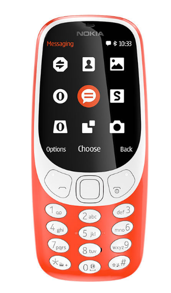 Picture of Nokia 3310 DS TA-1030 NV (Red)