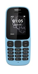 Picture of Nokia Mobile 105 TA-1010 IN CM (Blue,4MB RAM,4MB Storage)
