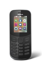 Picture of Nokia Mobile 130 DS TA-1017  IN CM Black,4MB RAM,8MB Storage)