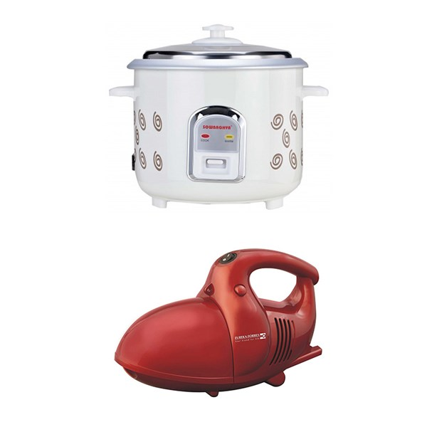 Picture of Eureka Vacuum Cleaner+Electric Rice Cooker