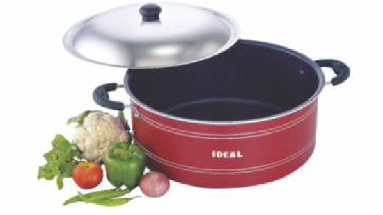 Picture of Ideal N S 3 Coated Briyani Pot 240mm 4L