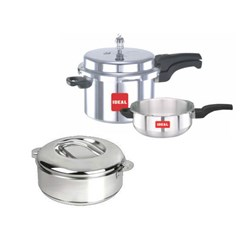Picture of Ideal Pressure Cooker 5 Ltrs with Pan+Casserole 3500 ml