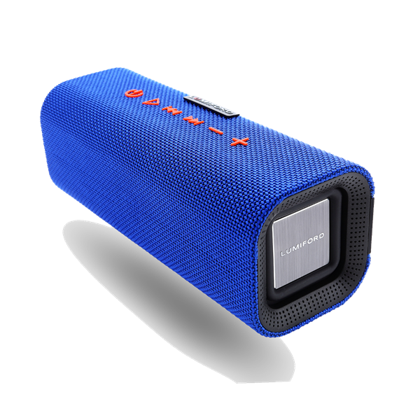 Picture of Lumiford Bluetooth Speaker Blue Log
