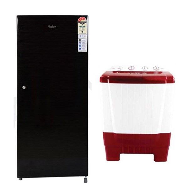 Picture of 6.5 Kg Semi Automatic Washing Machine+195 Ltrs Refrigerator
