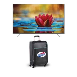 "Picture of Amstrad 43""AM43UG5A Smart Android LED TV+Gift American Tourister Trolley Bag"