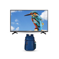 "Picture of Amstrad 43"" AM43FHSA Full HD Smart LED TV+Gift Wild Craft Back Bag"