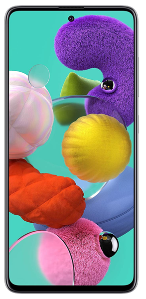 Picture of Samsung Mobile A515FZWW Galaxy A51 6GB RAM,128GB Storage White