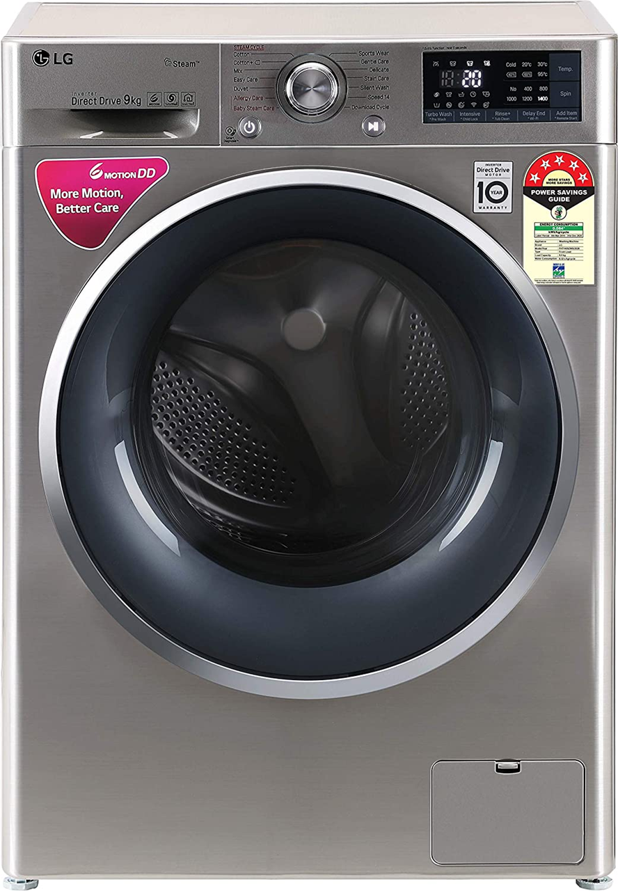 Buy Lg 9 Kg Fht1409zws Wi Fi Fully Automatic Front Load Washing Machine
