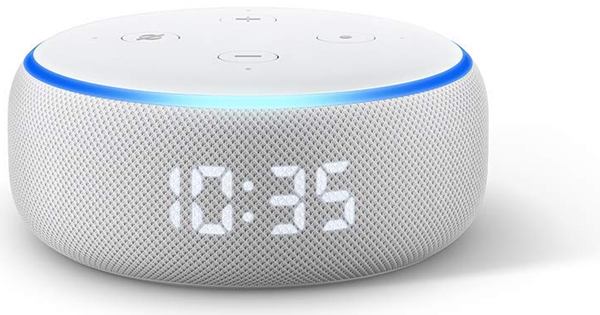 Picture of Amazon Alexa Speakers Echo Dot With Clock