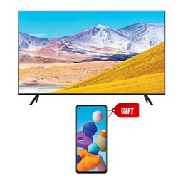 "Picture of Samsung 65"" UA65TU8000 UHD Smart LED TV+GIFT Samsung Mobile A217FF Galaxy A21S 6GB RAM,64GB Storage"
