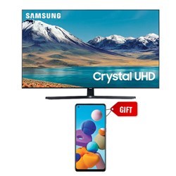 "Picture of Samsung 65"" UA65TU8570 4K Smart Crystal UHD LED TV+GIFT Samsung Mobile A217FF Galaxy A21S 6GB RAM,64GB Storage"