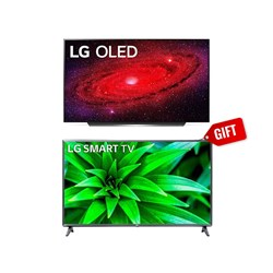 "Picture of LG 65"" 65CX OLED TV+GIFT LG 43"" 43LM5600 Smart FHD LED TV"