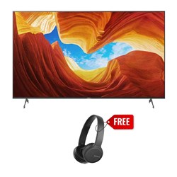 "Picture of Sony 55"" KD-55X9000H 4K UHD Smart Android LED TV+Gift Sony WH-CH510 Wireless Headphone"