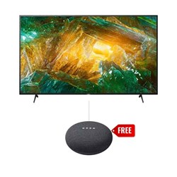 "Picture of Sony 55"" KD-55X8000H 4K UHD Smart Android LED TV+Gift Google Nest Mini"