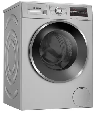 Picture of Bosch WAJ2846SIN 8 kg Inverter 5 Star Fully Automatic Front Load Washing Machine 1400 RPM (Silver)