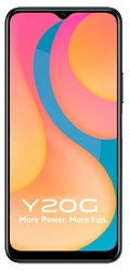Picture of Vivo Mobile Y20G Obsidian Black , (6GB RAM 128GB Storage)