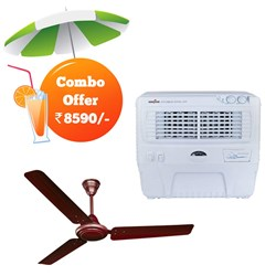 Picture of Crompton 48 Ceiling Fan +Kenstar 55Litres Air Cooler