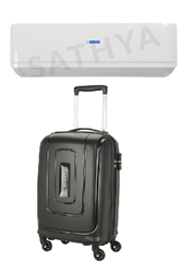Picture of Bluestar AC 1.5Ton FS318AATU 3 Star (BI/BO)+Gift American Tourister Trolly Bag