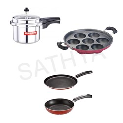 Picture of Sowbhagya Cooker 3 L/Butterfly Raaga paniyaarakal/Butterfly Kroma KCP 2 set
