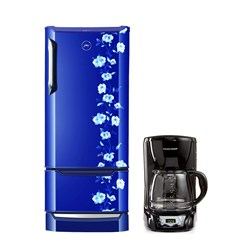 Picture of Godrej RD Edge DUO 225 PD Inv 4.2 Neo Orchid Blue/Coffee Maker