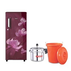 Picture of Whirlpool Fridge 205 IM PC PRM 3S Wine Flora-E/Sowbaghya Cooker/Gift Item 50L Plastic V - Durm