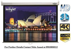 Picture of Inlight Wall Imported Autolock/Instalock Projector Screen