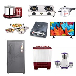 "Picture of Intex 32"" LED 3221 HD/Fridge/Onida WM/Mixie/Grinder/Indcook/Stove/Cooker/Kitchen Set"